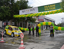 Our cooperation with MANN-FILTER at industrial sites!